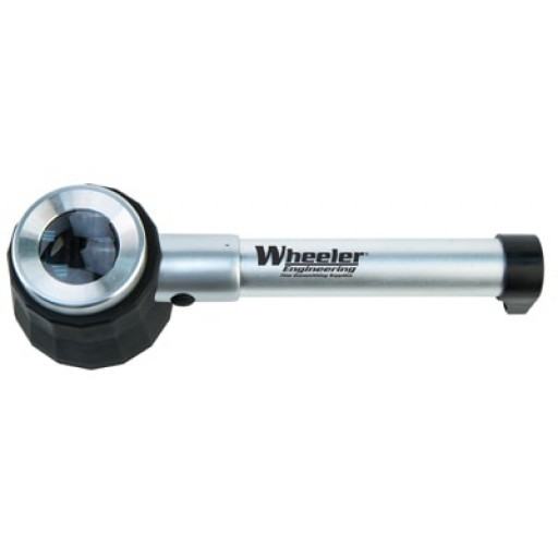 WHEELER Handheld Magnifier With LED Light And Carry Case #110183
