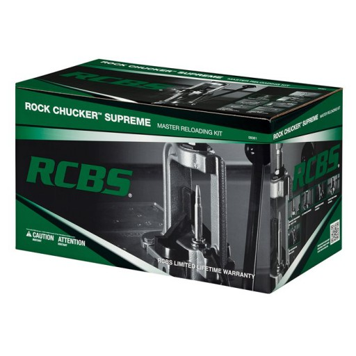 RCBS ROCK CHUCKER Supreme Master Reloading Kit #09354