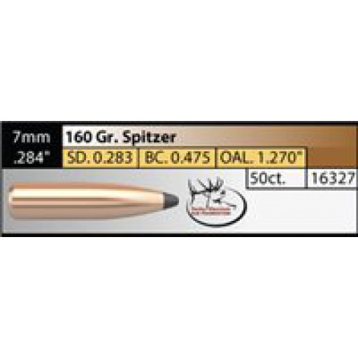 "NOSLER Partition .284"" 160gr SP #16327"