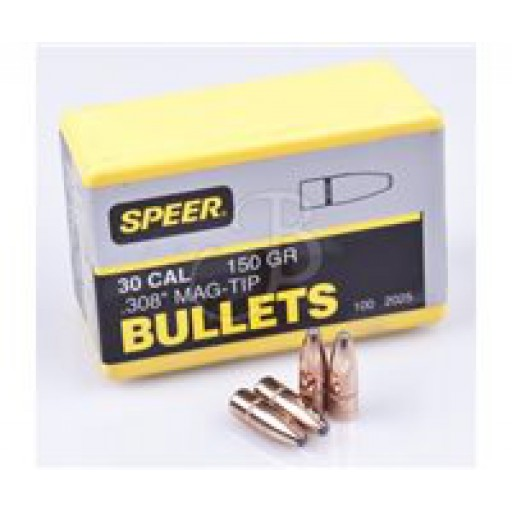 "SPEER Hot-Cor .284"" 160gr SP Mag-Tip #1637"