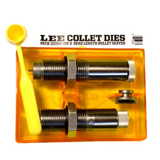 LEE Collet 2-Die Neck Sizer Set 375 H&H Magnum #90729