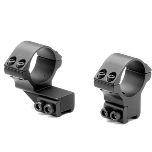 SPORTSMATCH Attacco 11mm (2pz)   Anelli 30mm   Extended   Mount 44mm #ETO37C