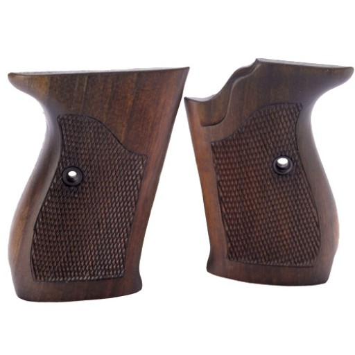 WALTHER P5 Guance in Legno | Noce