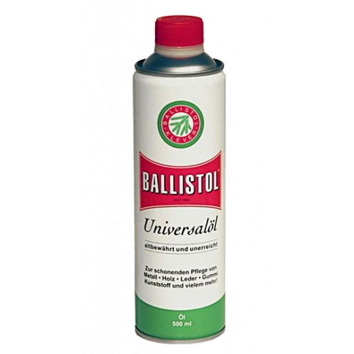 BALLISTOL Olio in Lattina da 500 ml 100% Biologico + Biodegradabile
