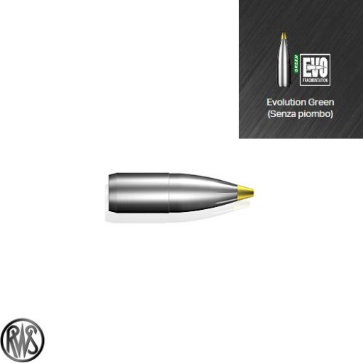 "RWS Evolution Green .323""  139gr (8mm / 9,0g)"