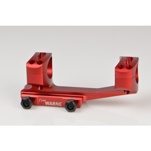 WARNE AR Attacco SKELETON-XTENDED  | Anelli 30mm | Rosso #XSKEL30R
