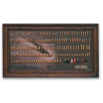 SPEER Bullet Display Board Chronology Quadro Cronologia cartucce Inerte