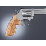 HOGUE Guance in Legno | S&W K/L Round->Square | TulipWood #19702
