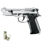 HARD PUNISHER Pistola a Salve Beretta 92 Cal.8 Top Firing Acciaio