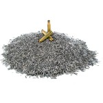 FRANKFORD Stainless Steel Media Pin 304 Aghi in acciaio inossidabile (2,3 kg)