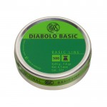 RWS DIABOLO BASIC 4.50mm 0.45g/6.95gr (500pz)