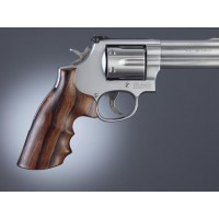 HOGUE Guance in Legno | S&W N Round->Square | RoseWood
