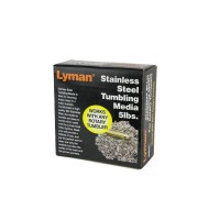 LYMAN Stainless Steel Tumbling Media Pin Aghi (2.27 kg) #7631375