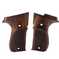 WALTHER P88 Compact | Guance in Legno | Noce