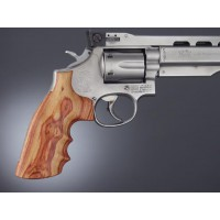 HOGUE Guance in Legno S&W K/L Square TulipWood #10700
