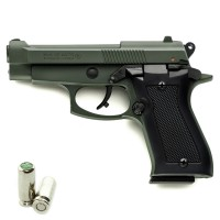 Pistola a Salve KIMAR Beretta 85 Cal.8 | Top Firing *Limited Edition* Military GREEN