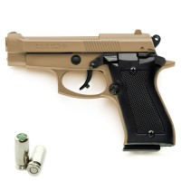 Pistola a Salve KIMAR Beretta 85 Cal.8 | Top Firing *Limited Edition* Desert TAN