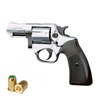 "HARD PUNISHER Revolver a Salve Competitive 2"" Cal.380 Top Firing Acciaio"
