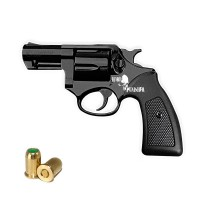"HARD PUNISHER Revolver a Salve Competitive 2"" Cal.380 Top Firing Nera"