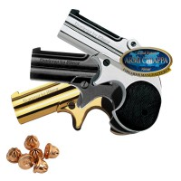 Pistola a Salve DERRINGER 2 Colpi Cal.22/6mm Top Firing | Chrome