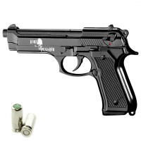 HARD PUNISHER Pistola a Salve Beretta 92 Cal.8 Top Firing Nera