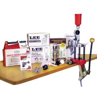 LEE Pressa Classic Turret in Ghisa + Kit Deluxe *Nuova #90304
