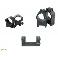 NIKKO STIRLING XT/SAS Holosight Attacco | Anelli 30mm