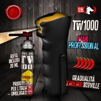Spray al Peperoncino TW1000 Man Professional + 20 ml Refill