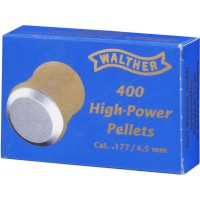 WALTHER Pallino HIGH POWER 4.50mm 0,32g/4.94gr (400pz)